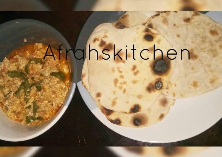 Recipe of Perfect Miyar kwai da pita bread