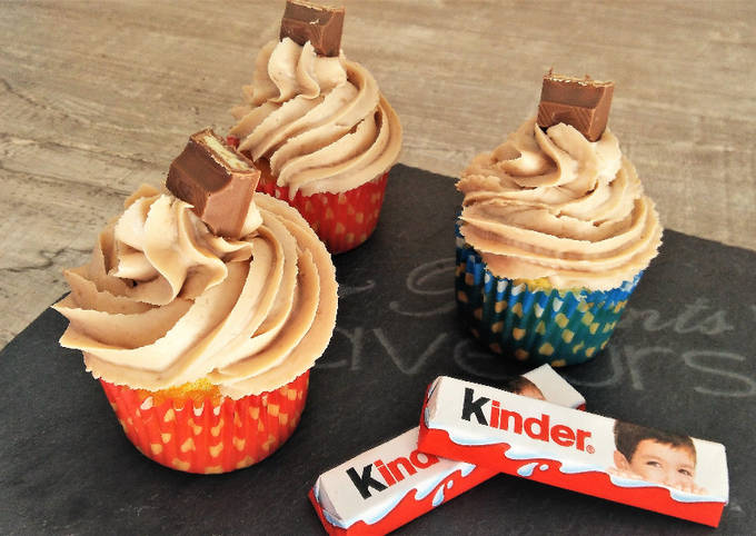 Cupcakes au Kinder®