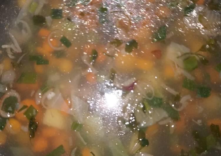 Sup Sayuran Sehat tanpa MSG