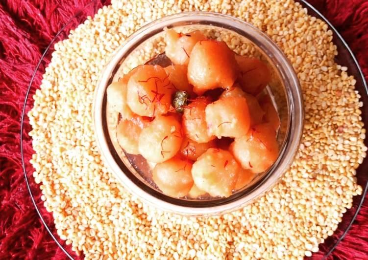 Recipe of Ultimate Mugiya (Ras Bara)