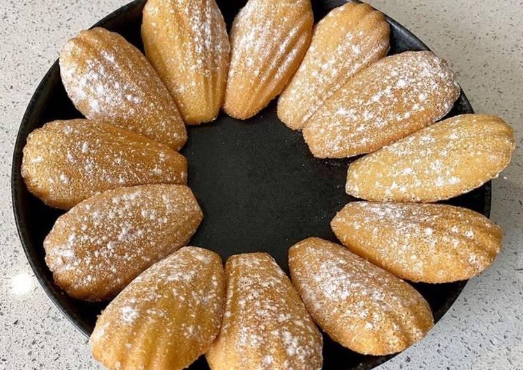 Recipe of Most Popular Vanilla madeleines