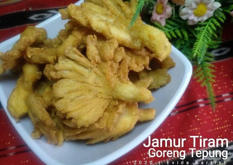 Resep Jamur Tiram Goreng Tepung Yang Enak