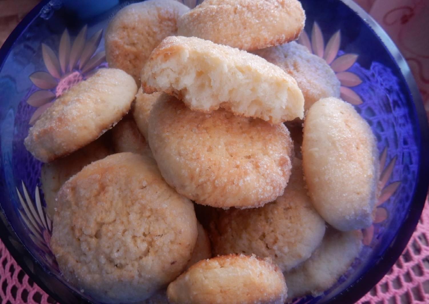 рецепты печенья на кефире с фото чтобы люди