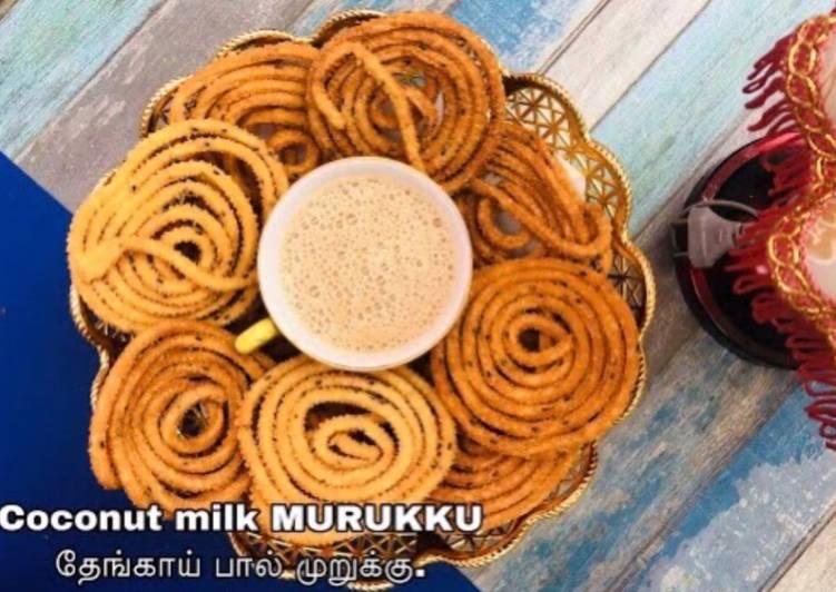 Coconut Milk Murukku