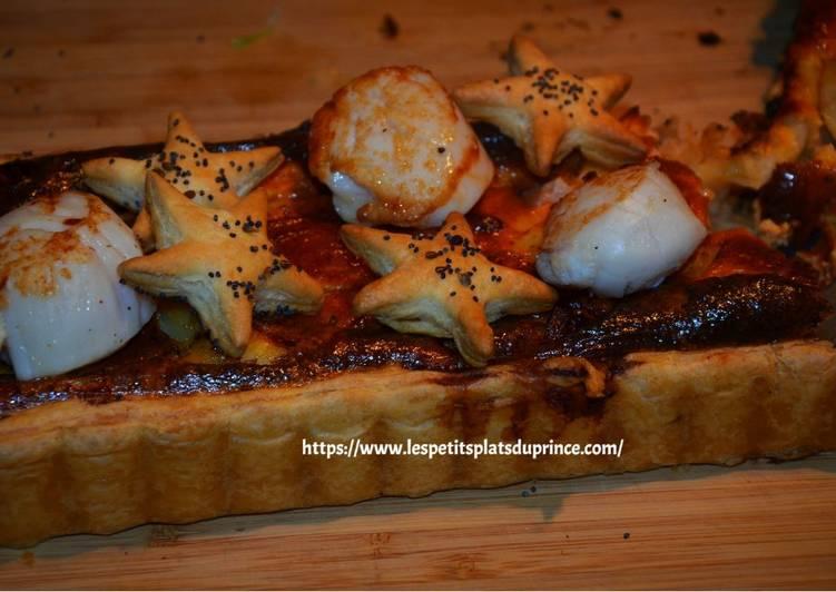 Le moyen le plus simple de Cuire Appétissante Tarte aux noix de St Jacques