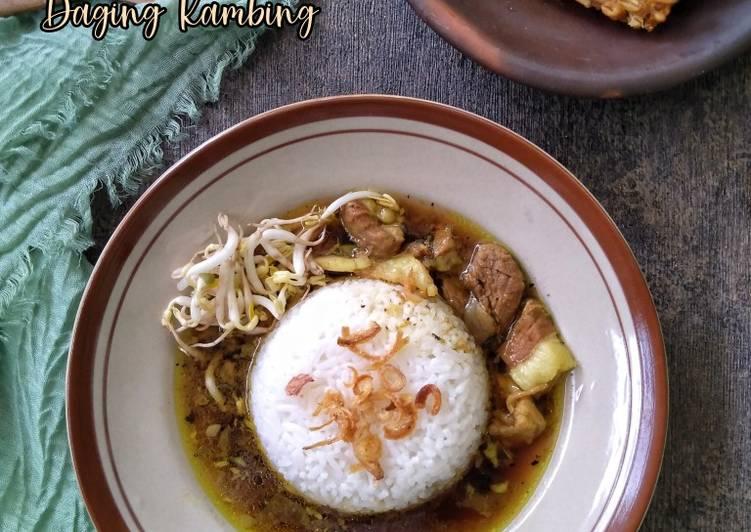 Rawon Daging Kambing