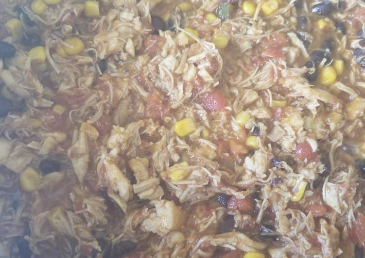Chicken enchiladas (spicy)