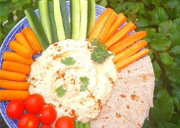 10 Minute Dinner Ideas Winter Hummus