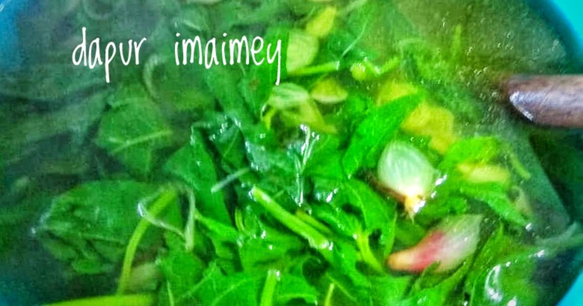 Resep Sayur Bening Glandir Daun Ketela Oleh Imaimey Cookpad
