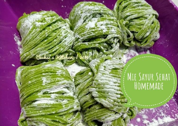 31. Mie Sayur Sehat Homemade