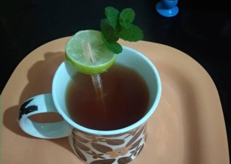 Lemon Digestive Tea