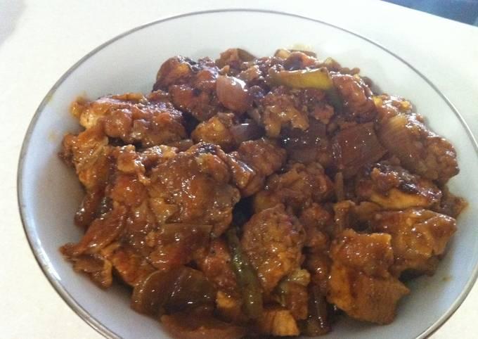 Chilli Chicken (Quick Recipe)