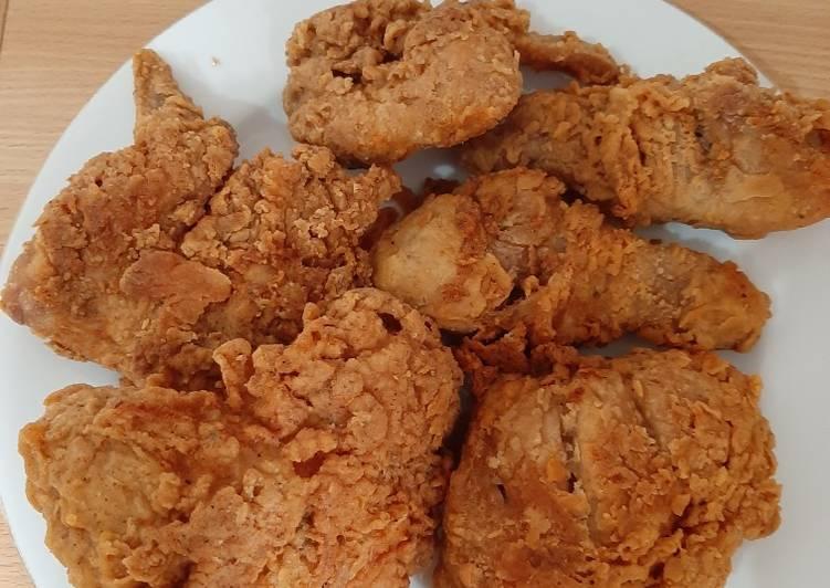 Ayam Kentucky Crispy Pedas
