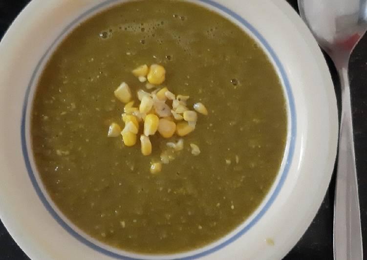 Sopa cremosa de verduras 🍵