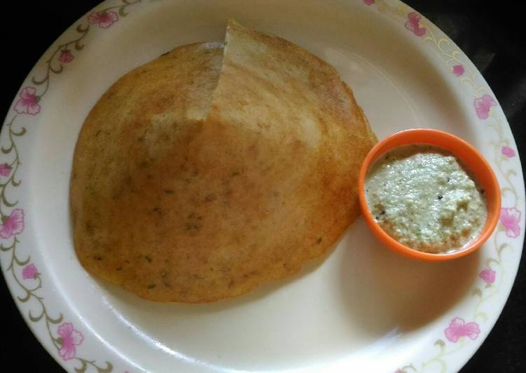 5 Minute Recipe of Royal Mogar Moog Dal Dosa