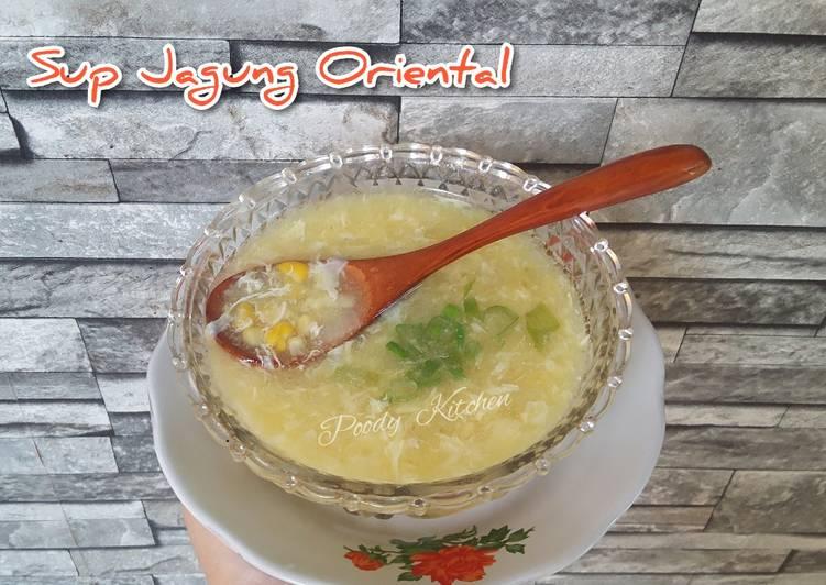 Sup Jagung Oriental