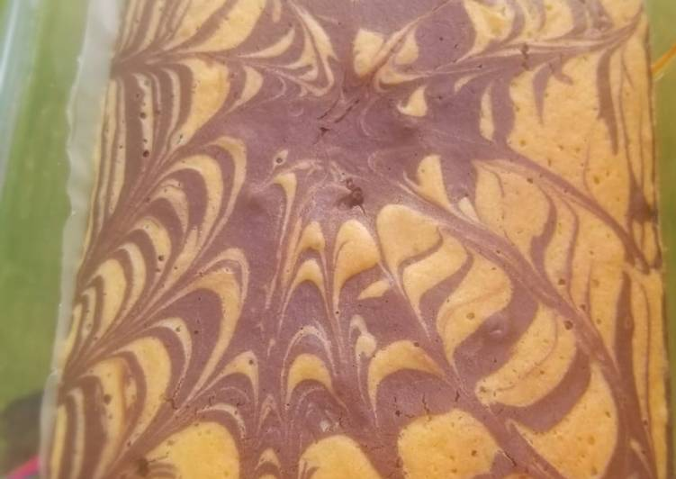 Easiest Way to Make Super Quick Homemade Marble cake