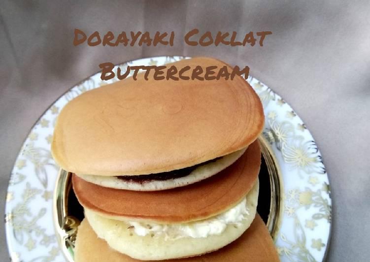 Dorayaki Coklat Buttercream 1 telur