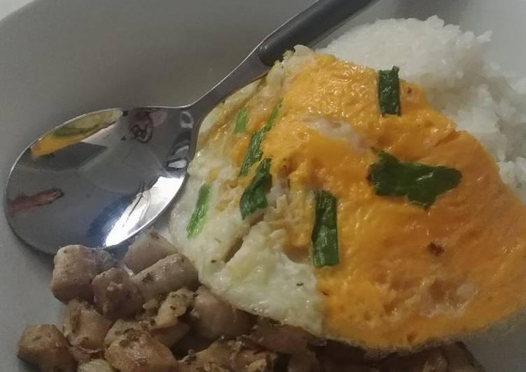 Tumis Makarel dan Telur Goreng (Sarapan Pagi Mudah dan Bergizi)