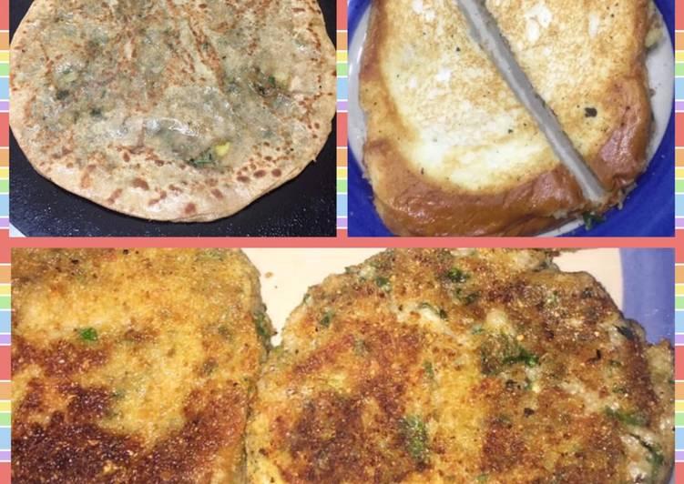 Recipe of Award-winning Alu wala paratha/kabab/sandwich