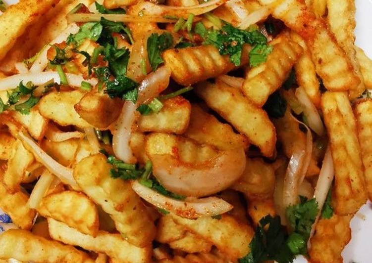 Recipe of Top-Rated Massala chips