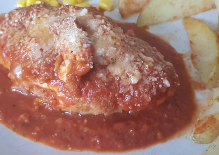 Easiest Way to Prepare Appetizing Chicken Parmesan