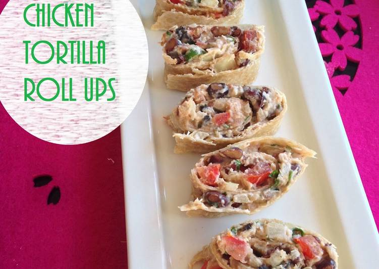 Turn to Food to Boost Your Mood Chicken Tortilla Roll Ups