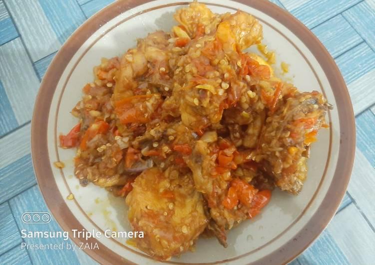 Ayam Goreng Bumbu Cabe Bawang