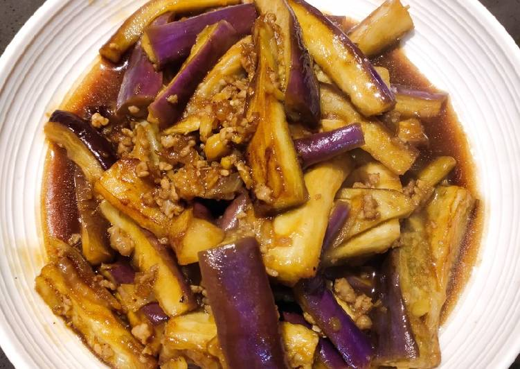 Simple Way to Prepare Speedy Sauteed Aubergine