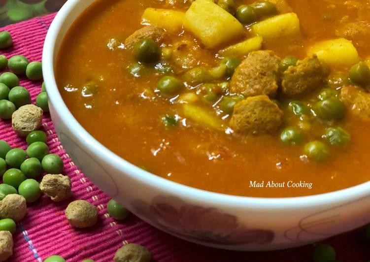 Easiest Way to Make Favorite Nuterla Pea Potato Curry – No Onion No Garlic