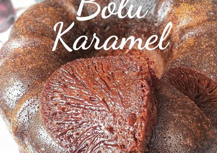 cara membuat #229. Bolu Karamel - Sajian Dapur Bunda
