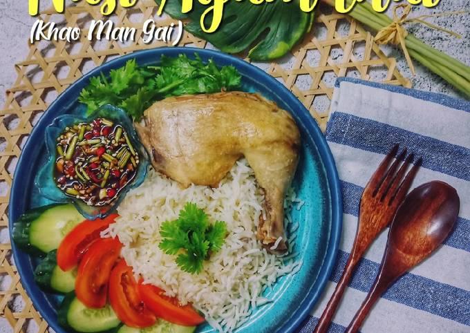 Resep Nasi Ayam Thai (Khao Man Gai) yang Menggugah Selera