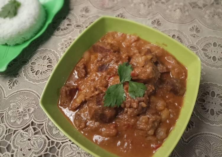 Kari daging sapi khas india