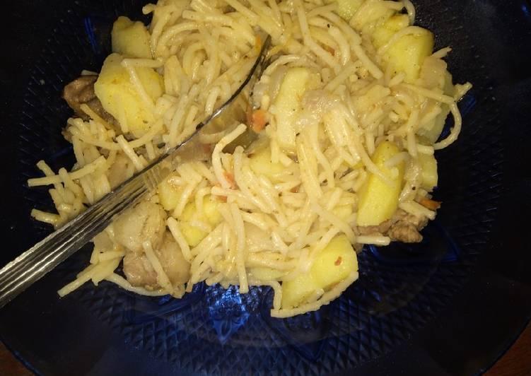 How to Make Favorite Spaghetti mix