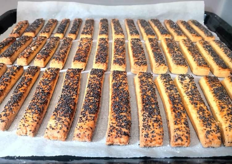 Glutén- és tejmentes mákos rúd recept foto
