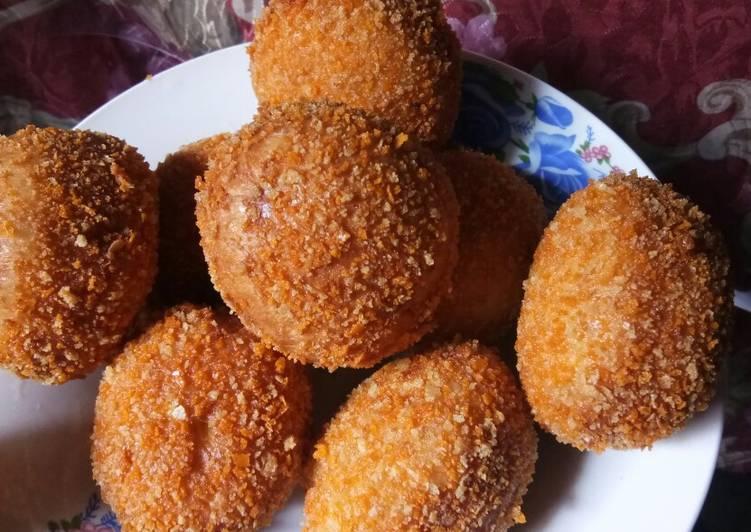 Tigor (Roti Goreng) Abon