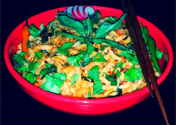 Mike's Spicy Thai Udon Noodles