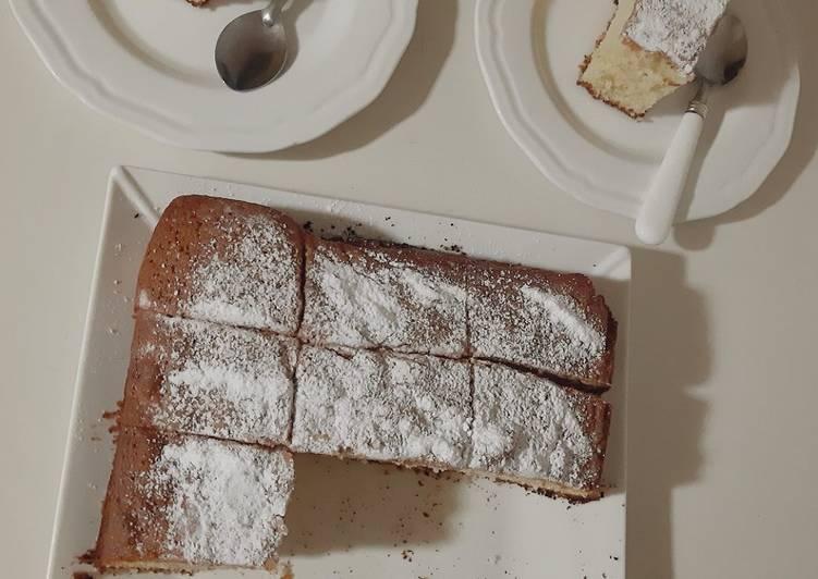 Gâteau moelleux a la vanille ☕