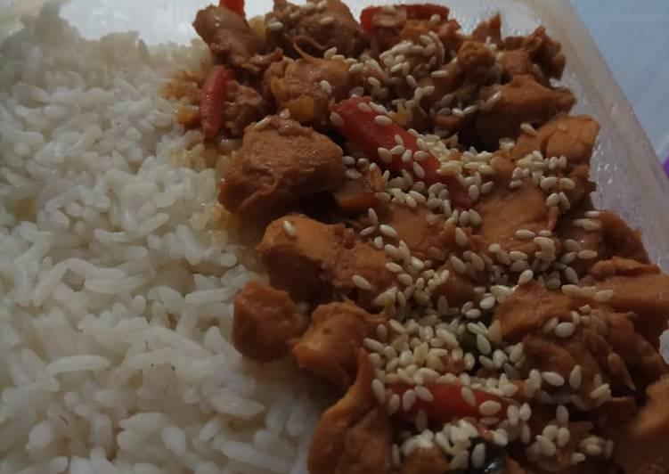 Langkah Mudah Memasak Ayam teriyaki simple, masak cepat yang…