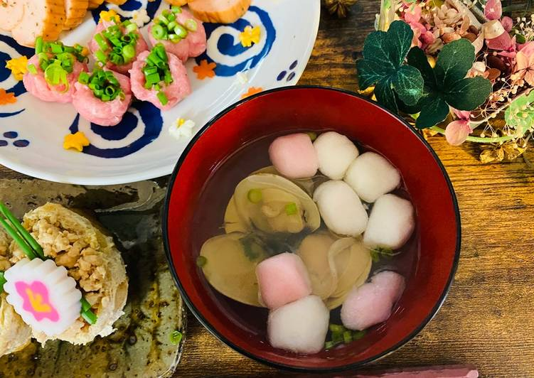 Clam Soup for Girls Festival (3rd March Japan)