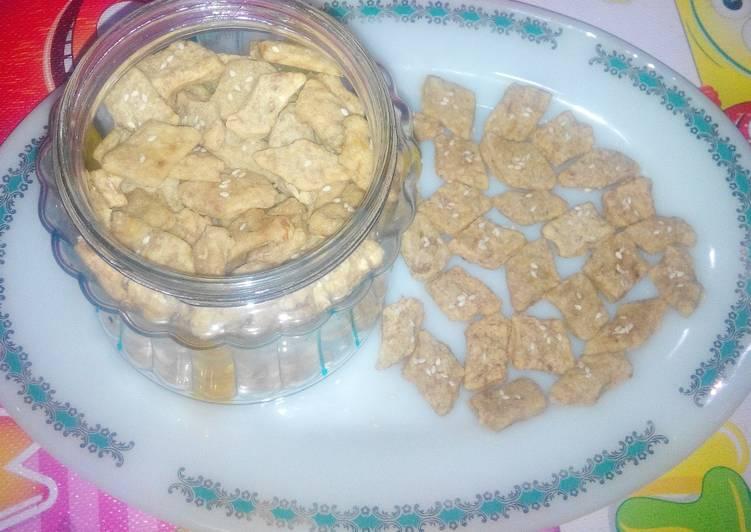 Banana Cookies (Eggless) Chewy n Crispy