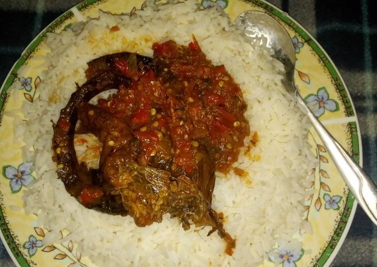 Try Using Food to Elevate Your Mood Rice and eja dudu stew