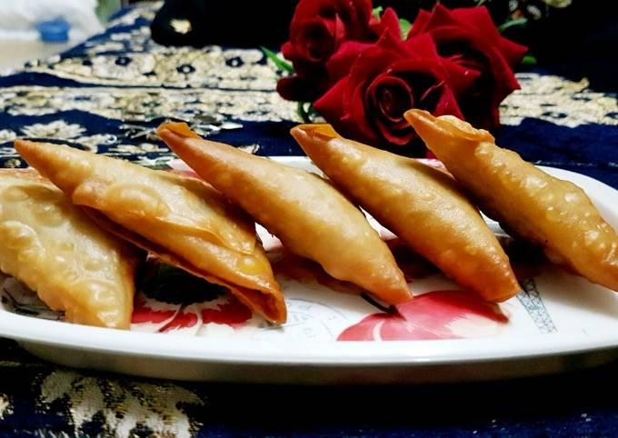 Mayo chicken crunchy samosa