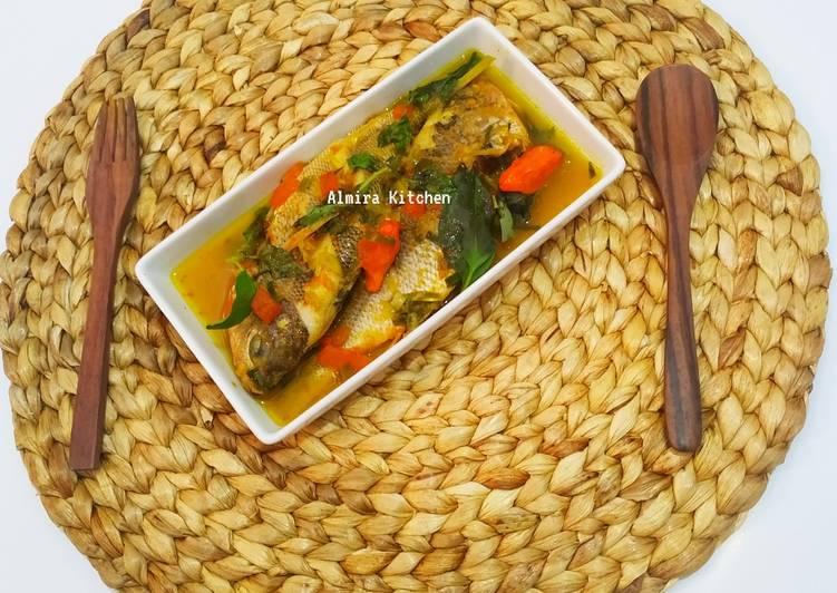Woku Ikan Ekor Kuning👩🍳