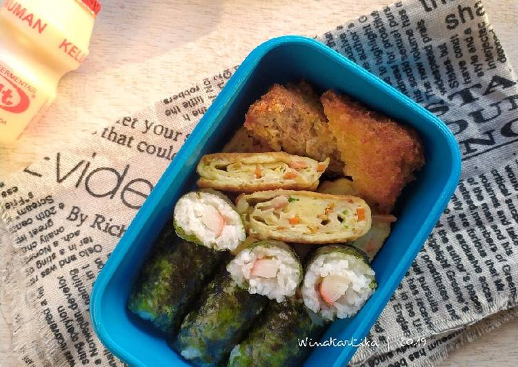 Resep Sushi Sederhana Sekali #BandungRecook2_SitiKulsum , Bisa Manjain Lidah