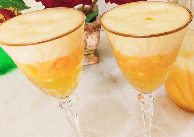 Refreshing Summer drink /Peach juice !