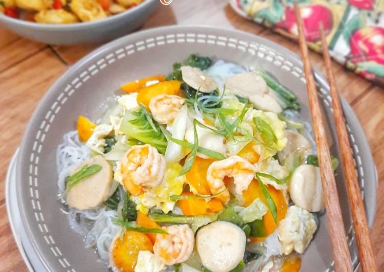 Bihun Siram Seafood