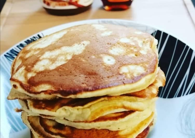 Le moyen le plus simple de Faire Savoureux Pancakes à la banane