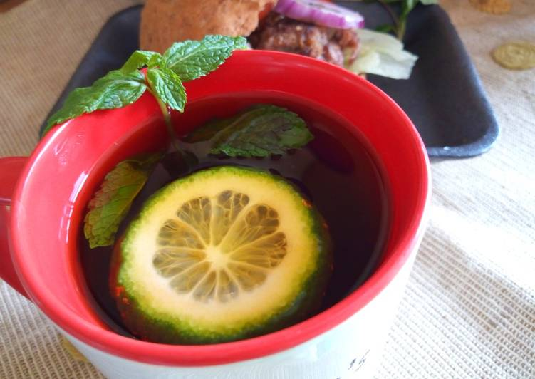 Recipe of Any-night-of-the-week Mint Lemon Tea