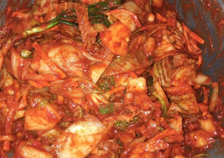 Resep Kimchi Superr Pedassss Oleh Aurora Via Cookpad